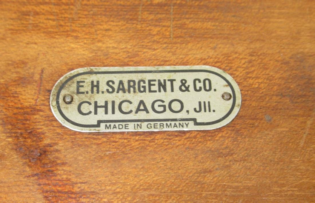 Set of Sargent & Co. Brass Scale Weights - 5