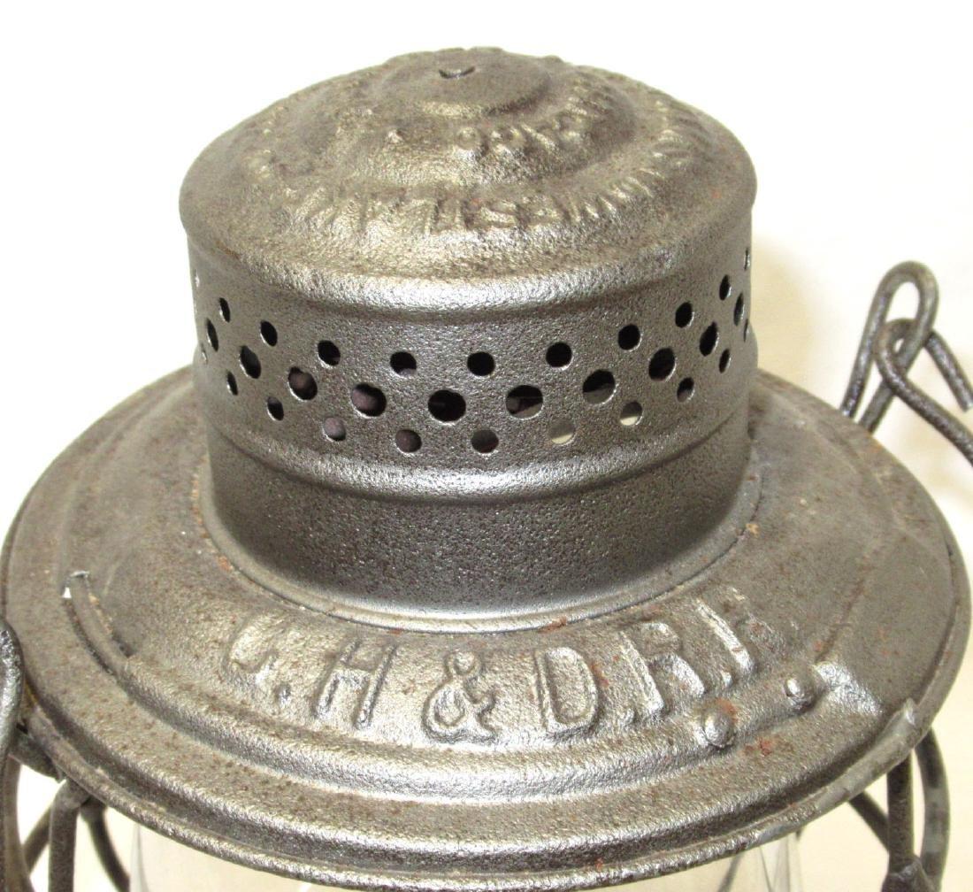 CH&D Railroad Lantern - 3