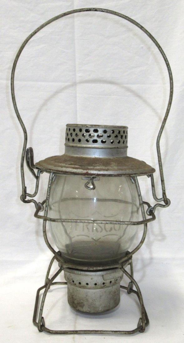 Frisco Handlan Lantern Globe Mkd. Frisco