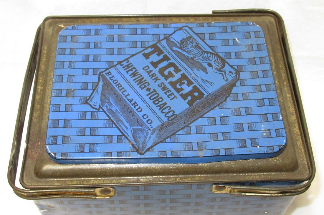 Tiger Tobacco Tin - 2