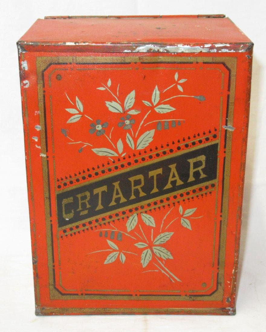 Cream of Tartar Store Tin