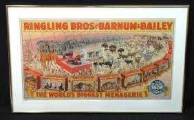1944 Circus Poster