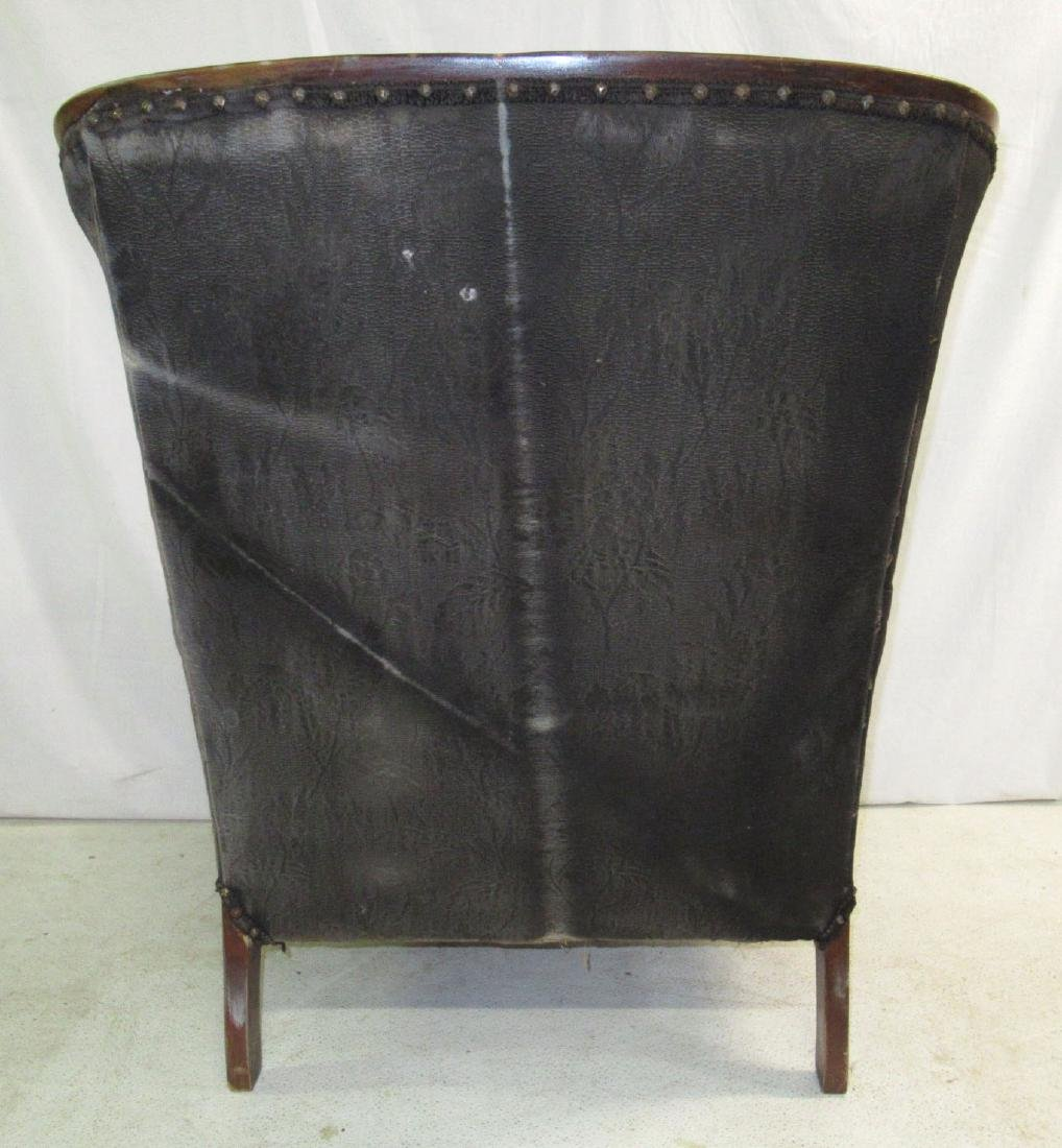 Carved Upholstered Chair - 5