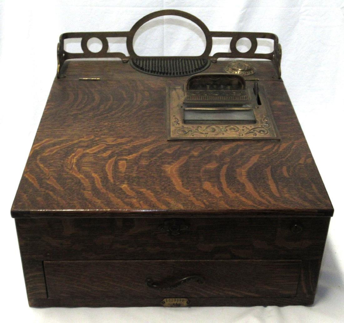 Nat'l. Cash Register #45 Oak Autographic Register