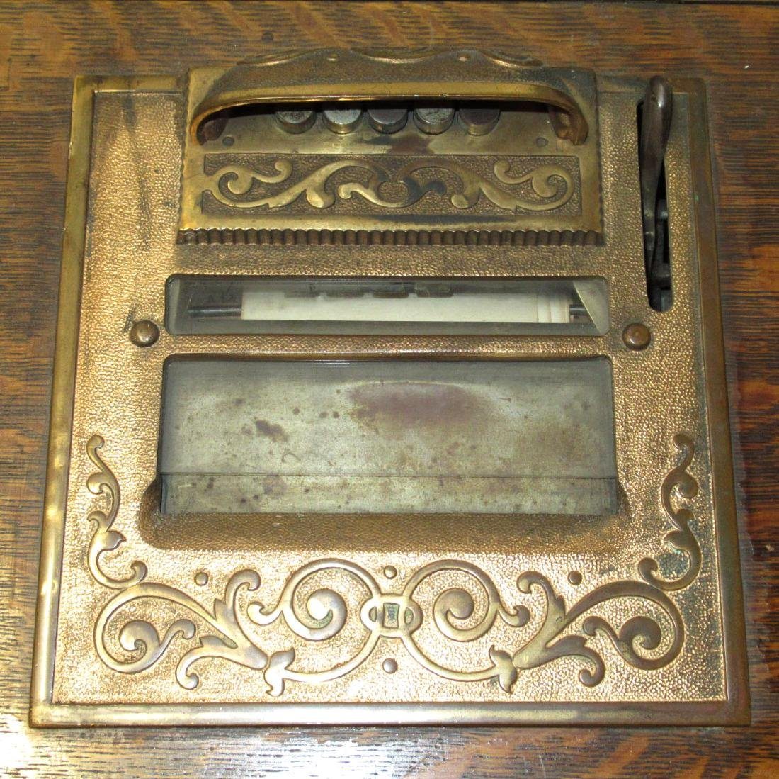 Nat'l. Cash Register #45 Oak Autographic Register - 3