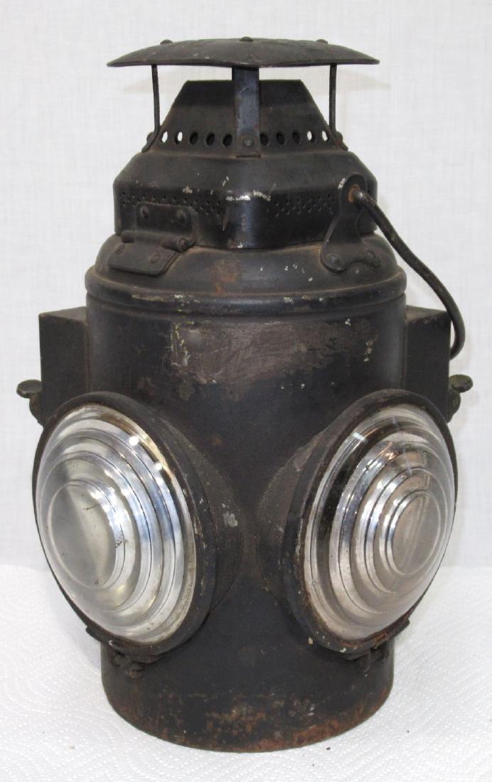 Adlake Signal Lamp w/ Different Flip Up Lenses