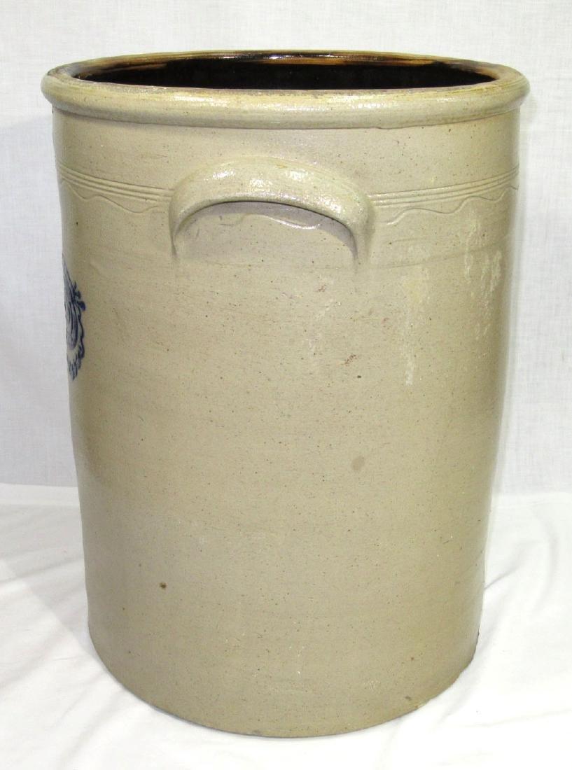 15 Gal. Decorated Stoneware Crock - 3