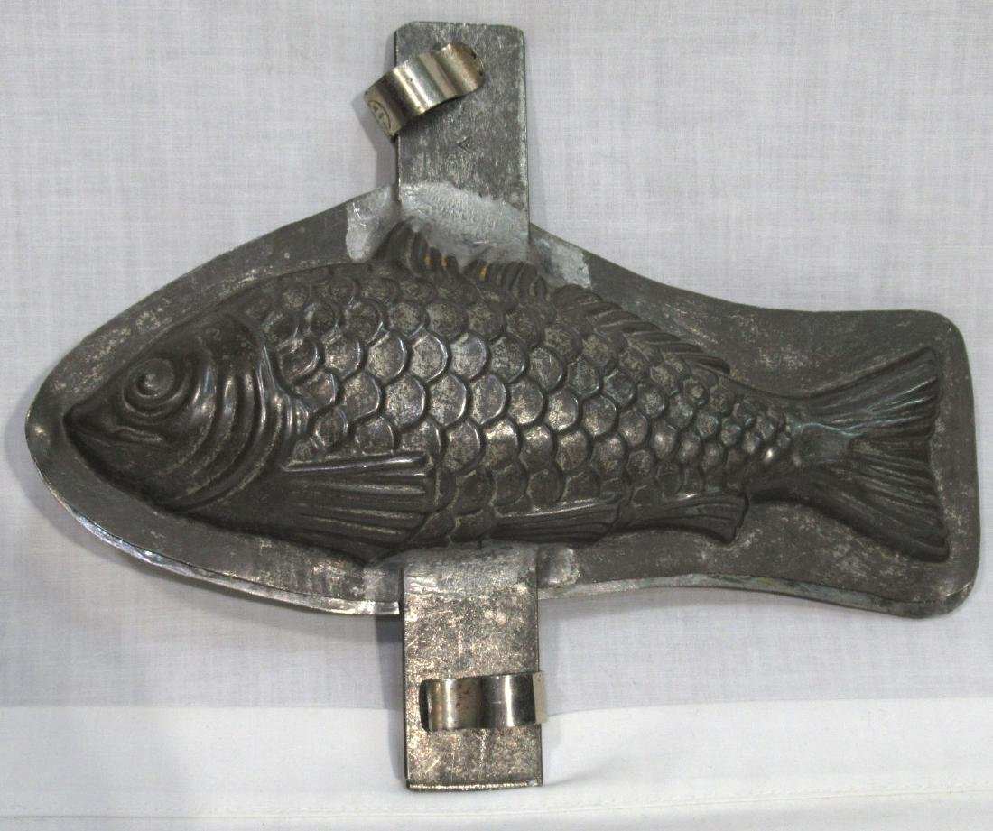 French Fish Chocolate Molds