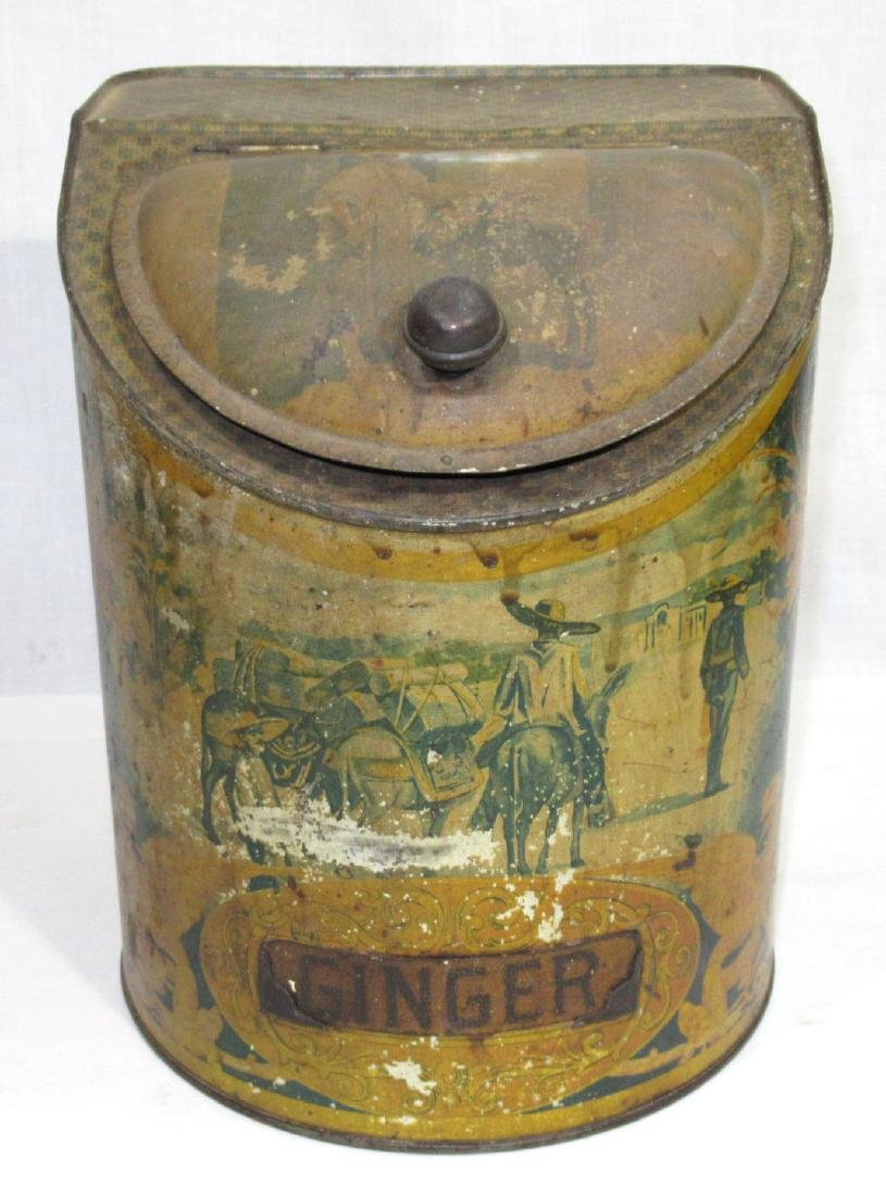 Country Store Ginger Tin