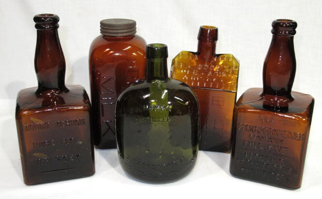 5 Old Bottles