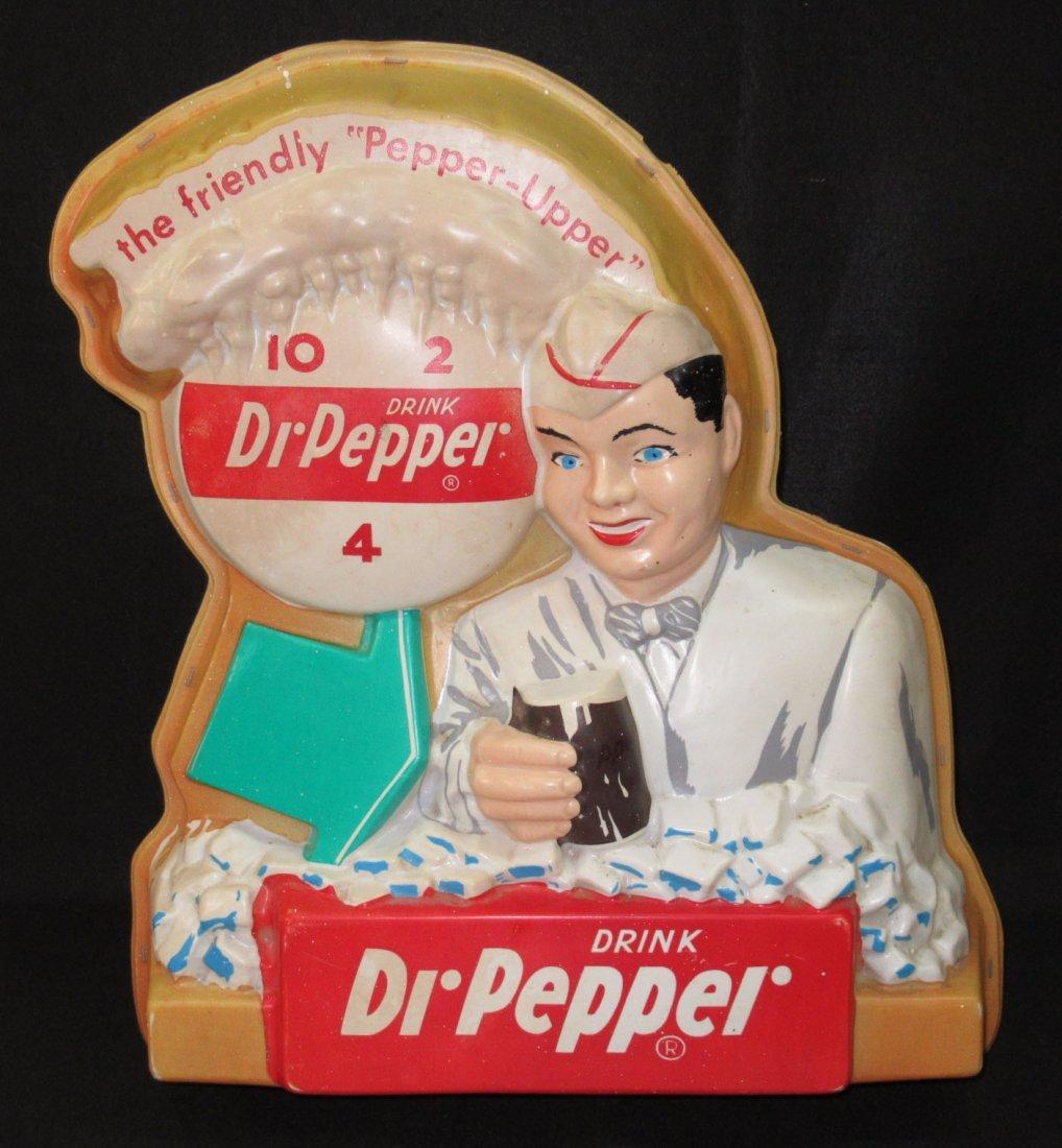 Lighted Dr. Pepper Adv. Sign