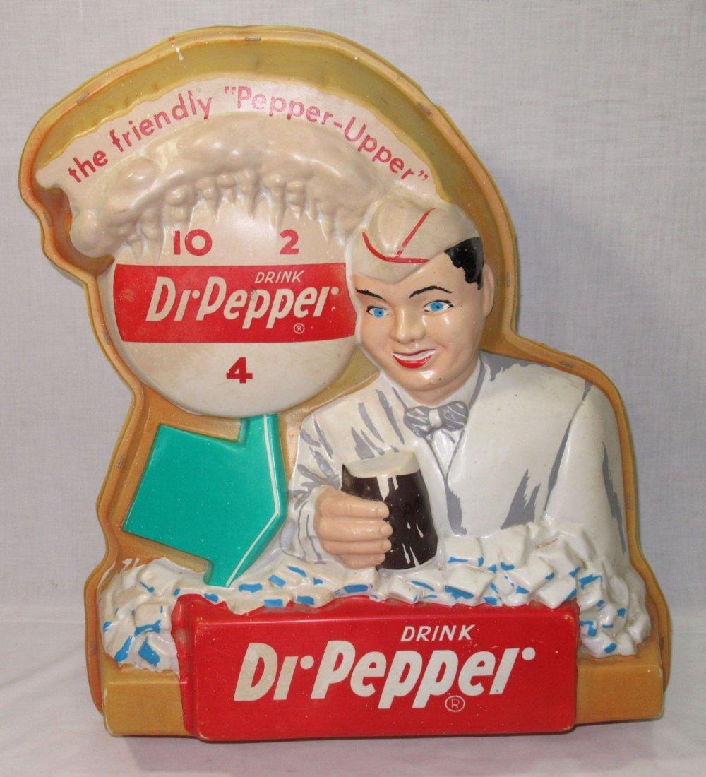 Lighted Dr. Pepper Adv. Sign - 2