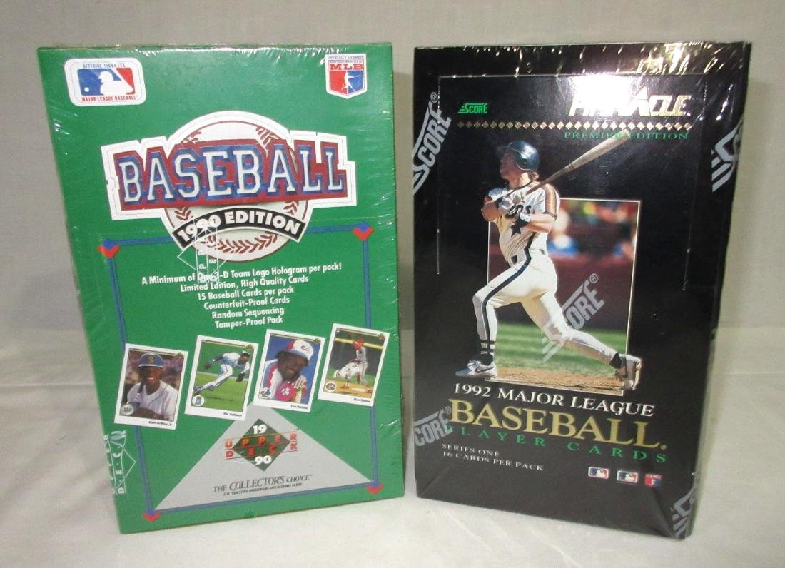 2 Factory Sealed Boxes Baseball Cards