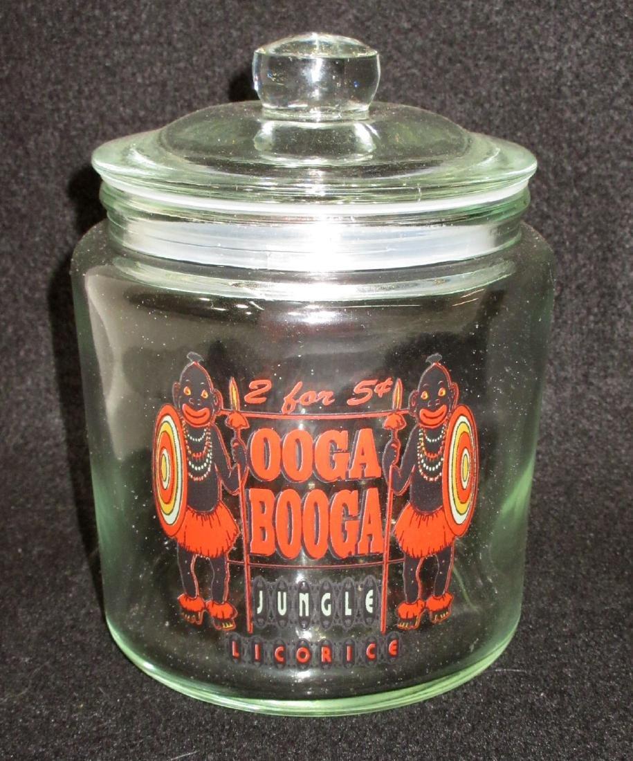 Modern Ooga Booga Candy Store Jar