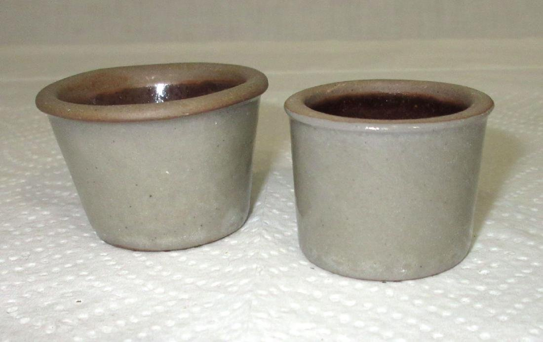 2 Stoneware Children's Toy Bowls - 2