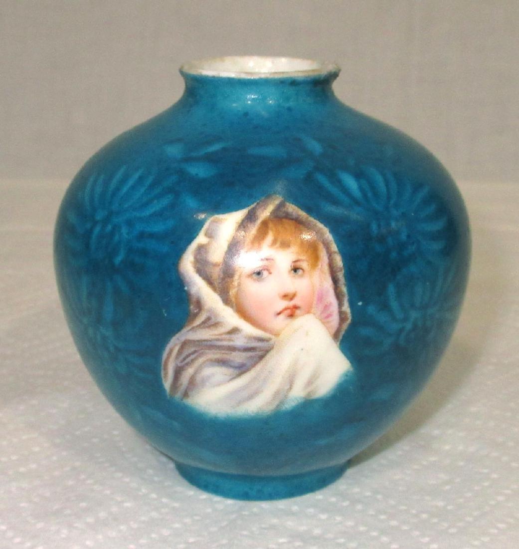 H.P. Germany Portrait Vase