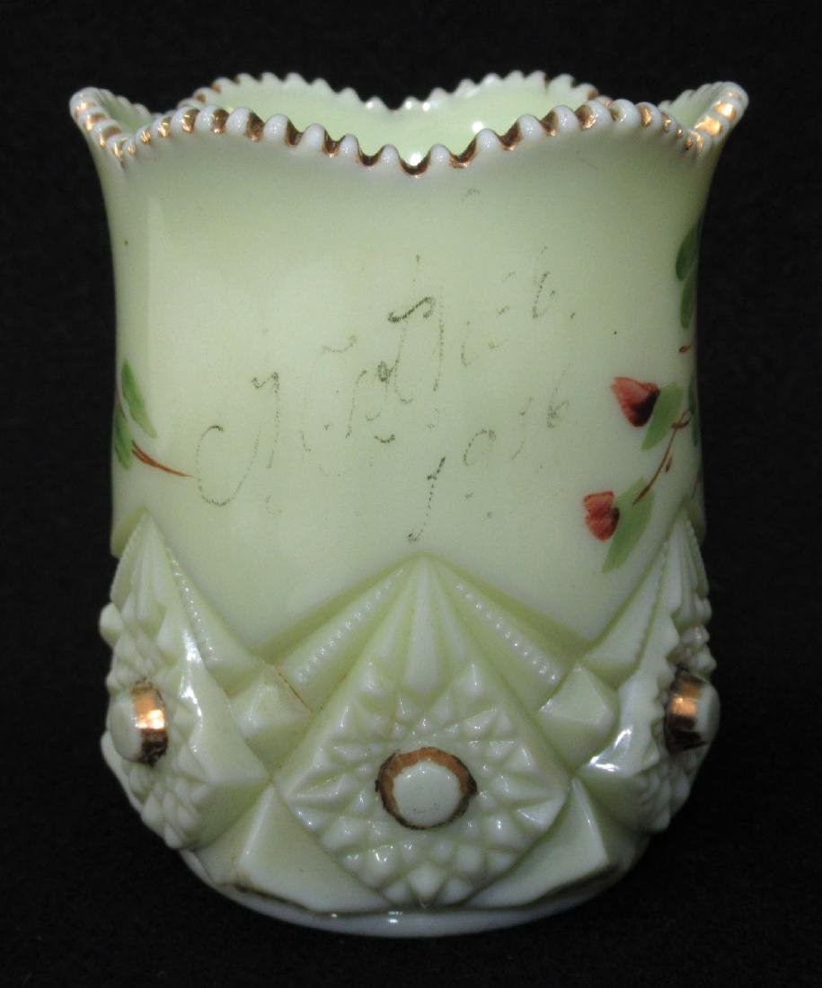 Custard Glass Spooner - 2