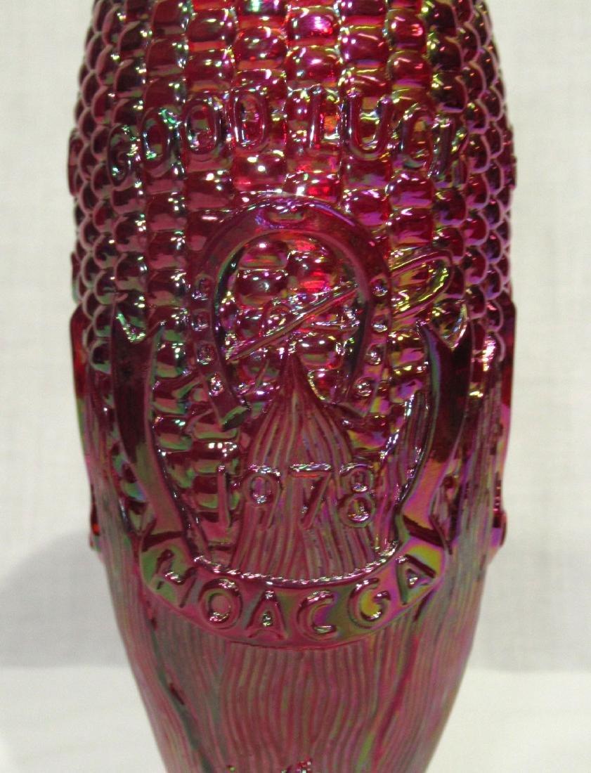 Carnival Glass Corn Vase - 2