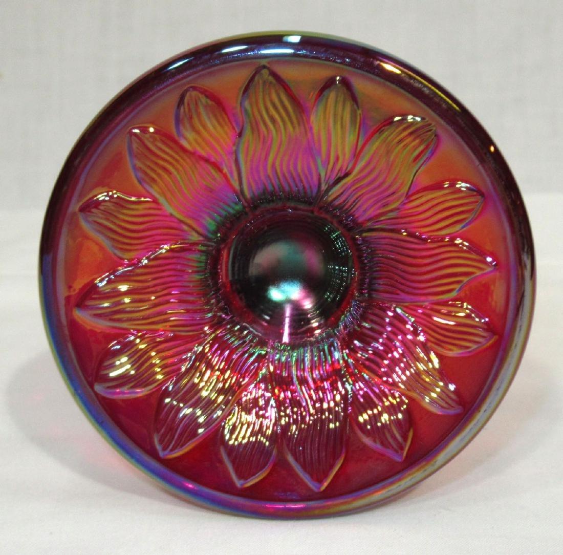 Carnival Glass Corn Vase - 3