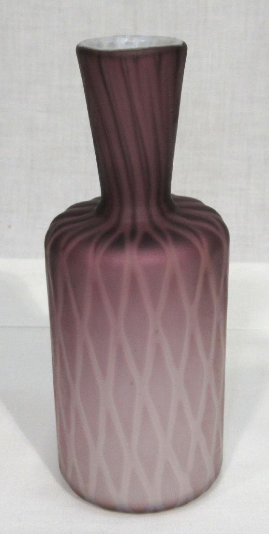 Lavender Diamond Quilted MOP Bottle