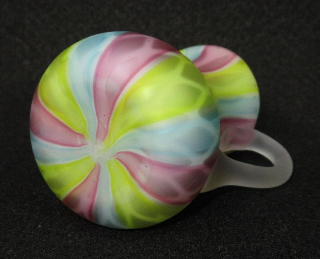 Rainbow Diamond Quilted MOP Pitcher - 2