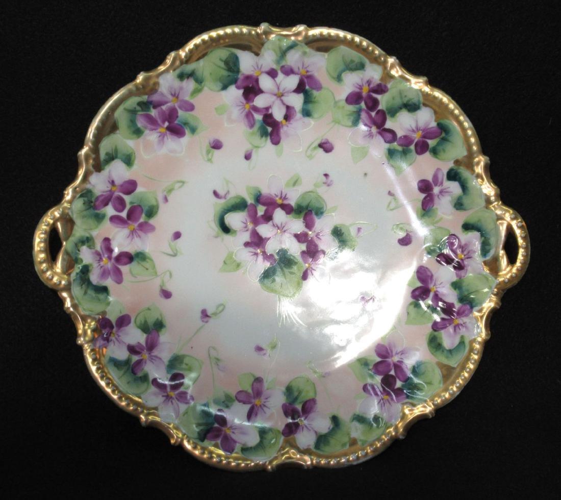 H.P. Violets Plate