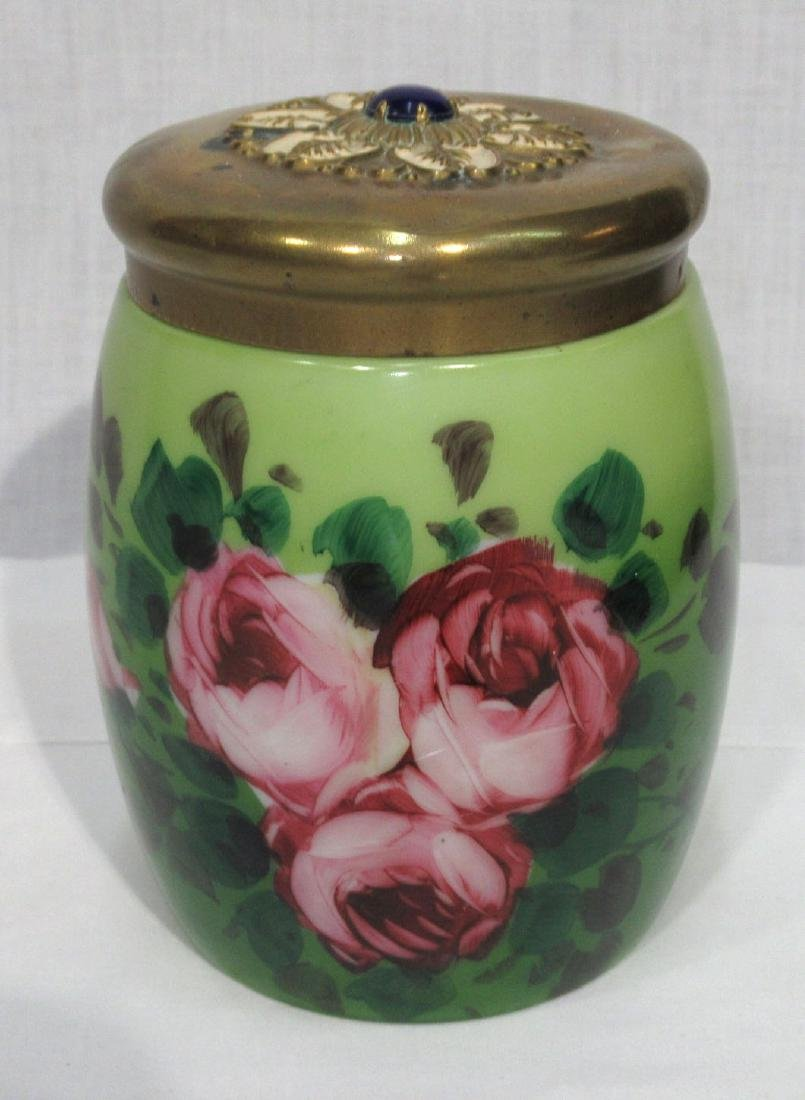 H.P. Vict. Tobacco Jar