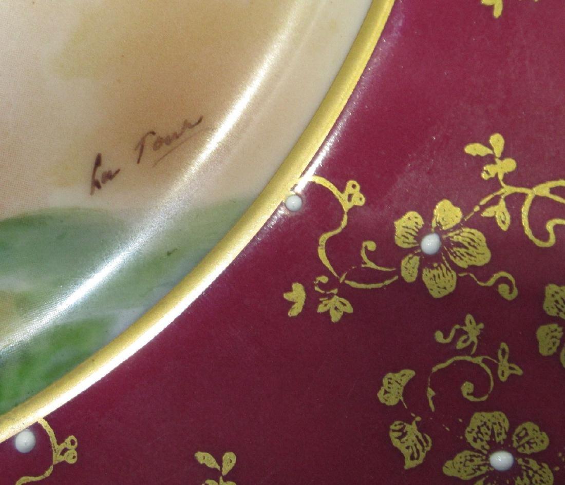 "H.P. Portrait Plate ""Pinky"" Artist Sgnd - 2"
