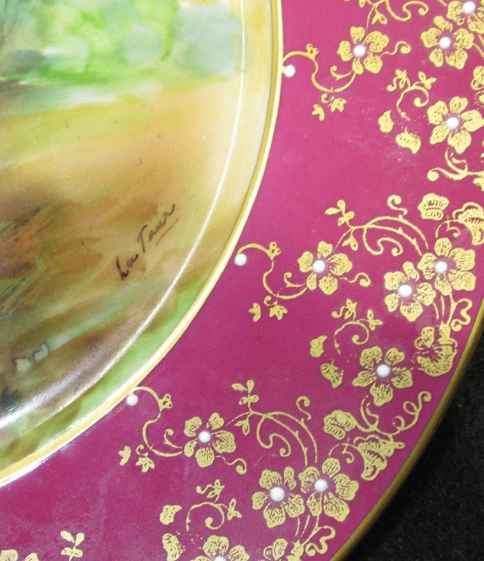 """H.P. Portrait Plate """"Blue Boy"""" Artist Sgnd - 2"""