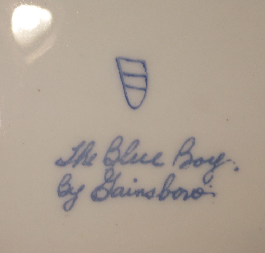 """H.P. Portrait Plate """"Blue Boy"""" Artist Sgnd - 4"""