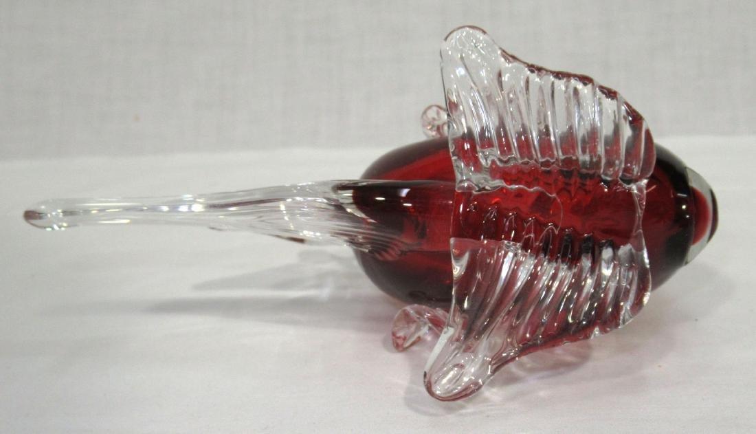 Art Glass Fish Paperweight - 2
