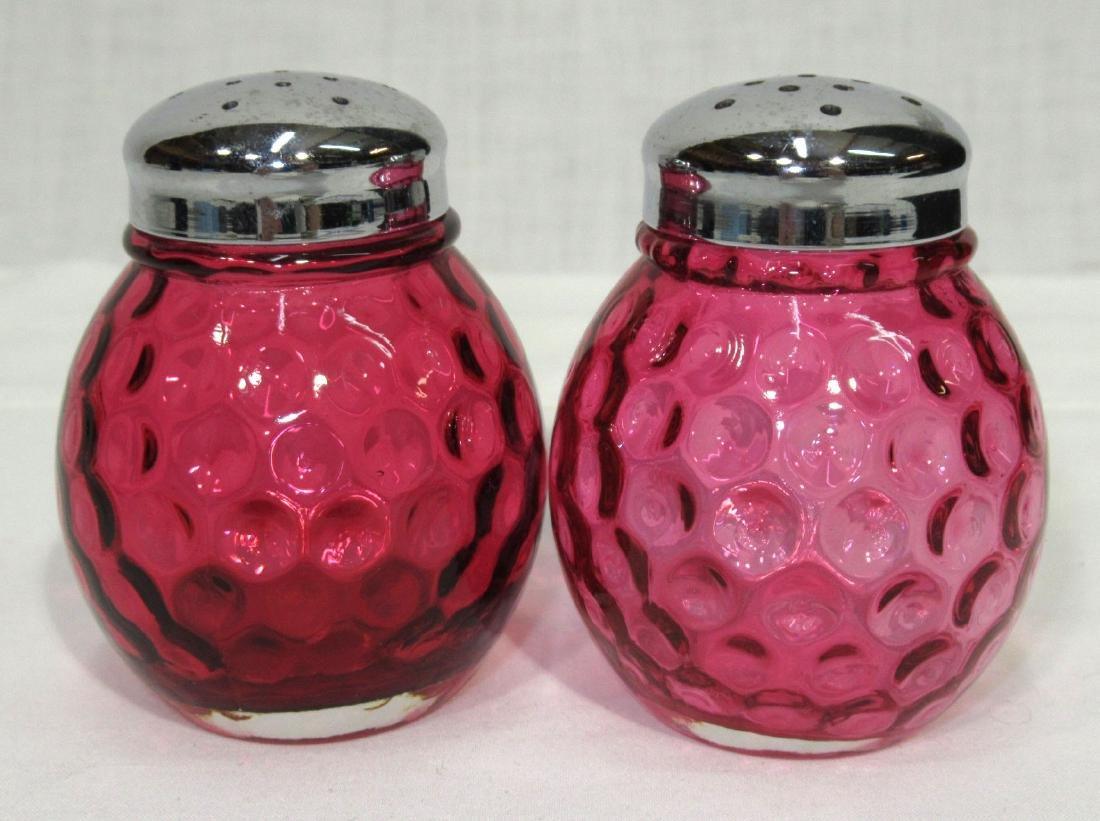 Cranberry Thumbprint Salt & Pepper