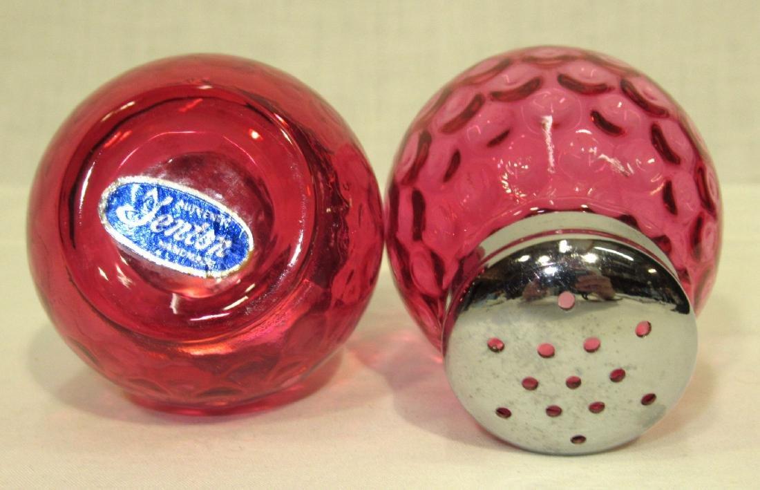 Cranberry Thumbprint Salt & Pepper - 2
