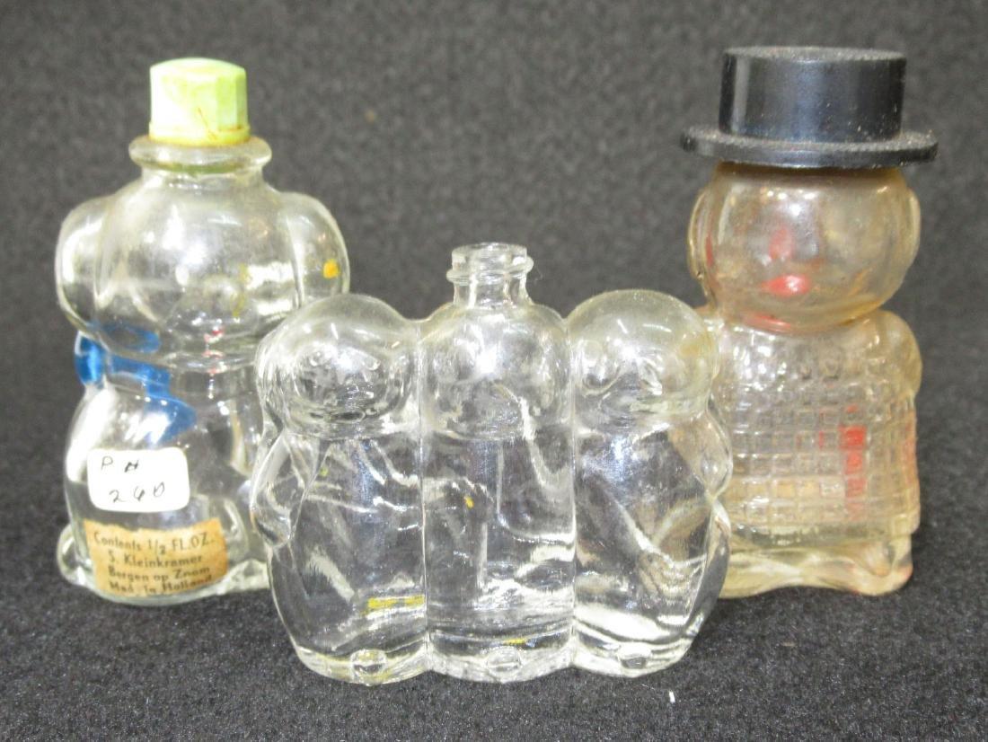 3 Figural Bottles - 2