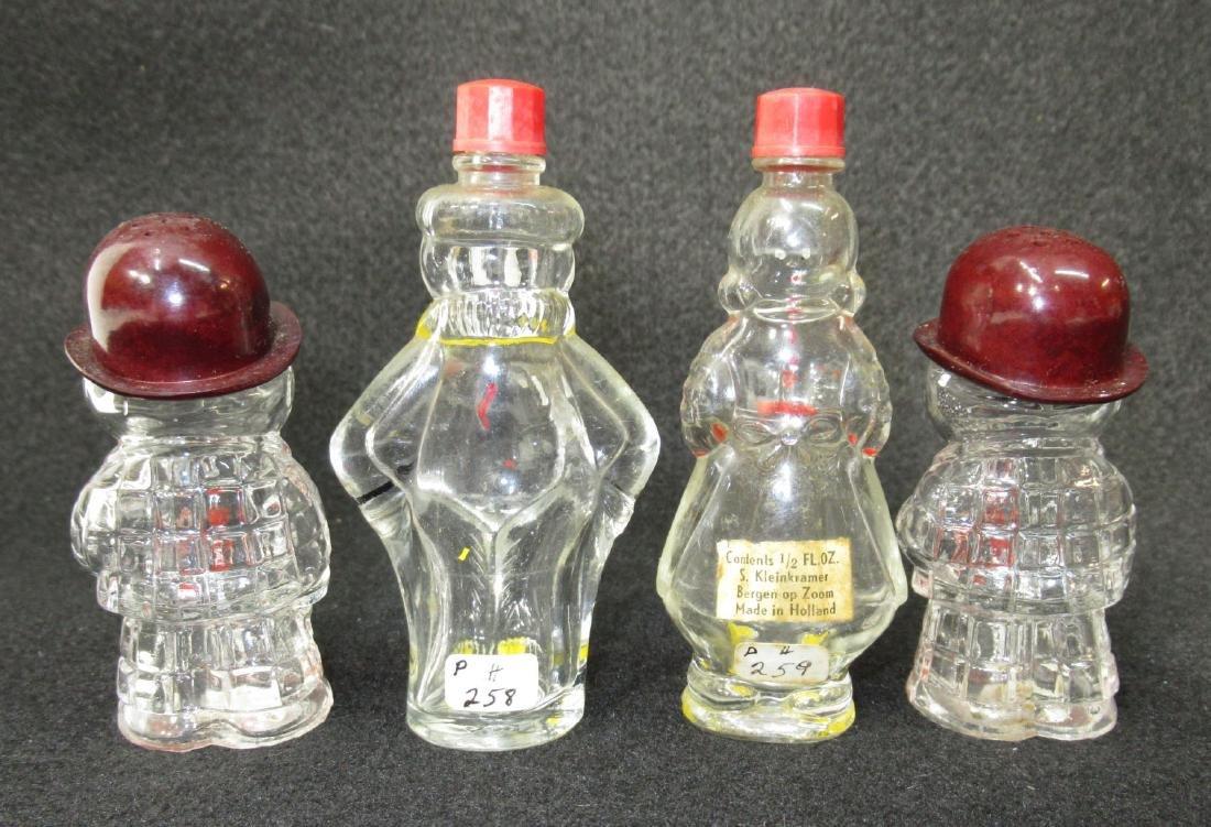 4 Figural Bottles - 2