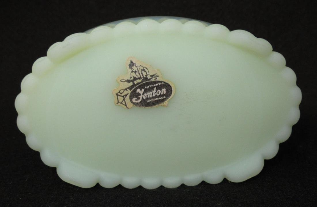 Fenton Custard Glass Box - 3