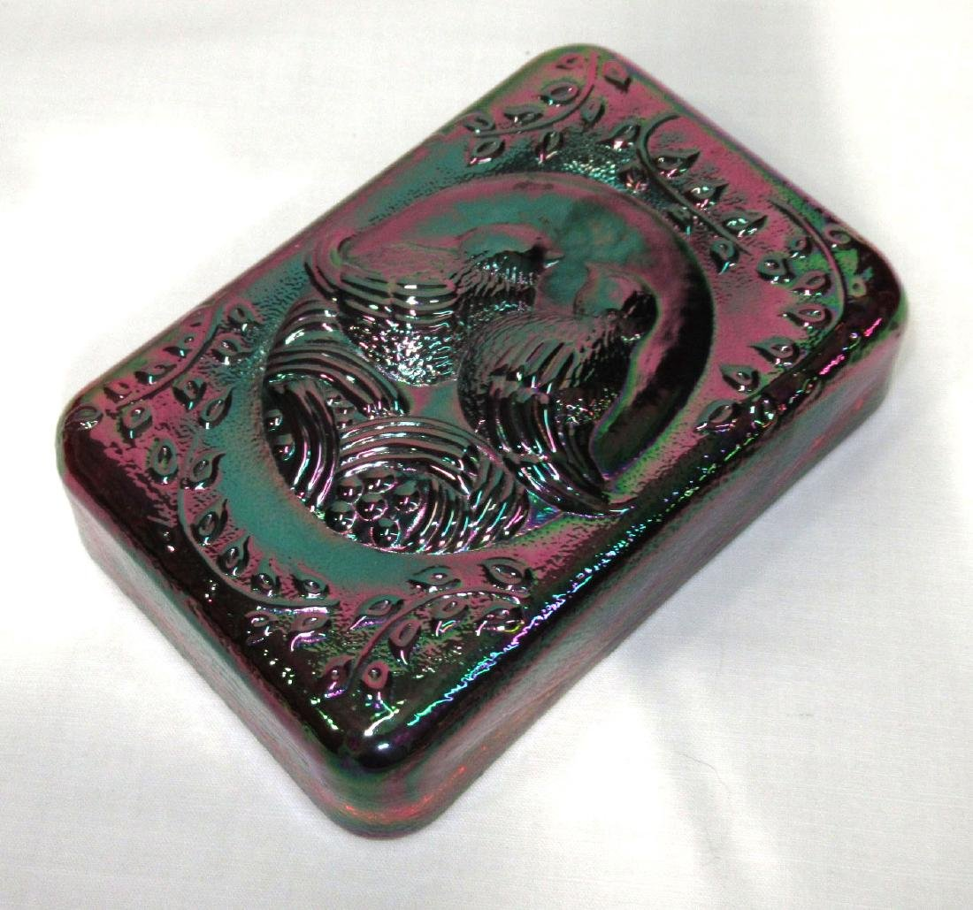 Fenton Carnival Glass Paperweight