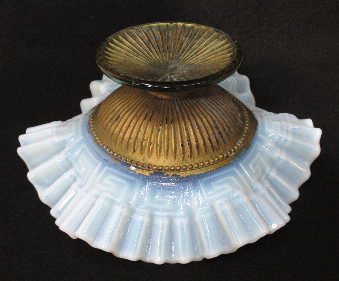Opalescent Goofus Glass Dish - 3
