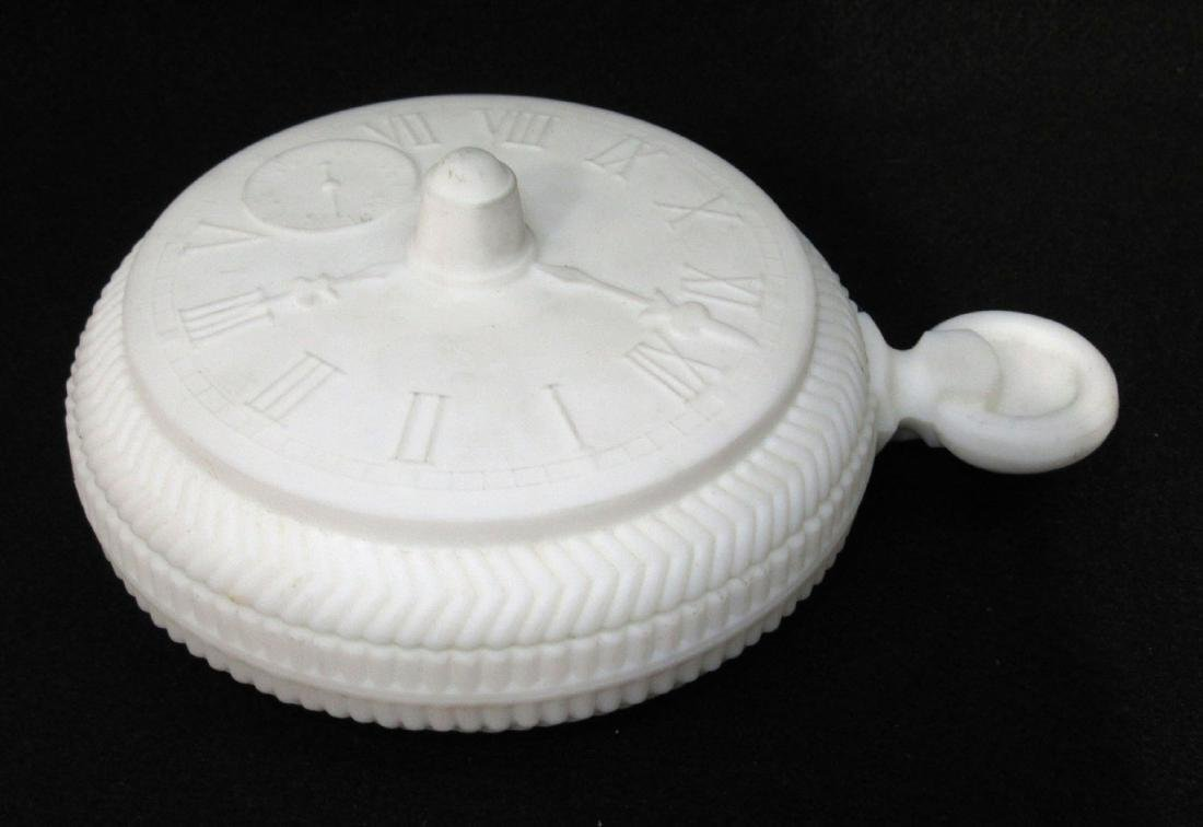 Imperial Pocket Watch Covered Dish