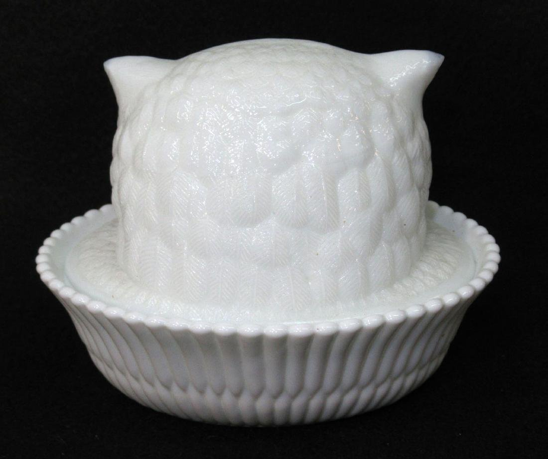 Owl Head Covered Dish - 2