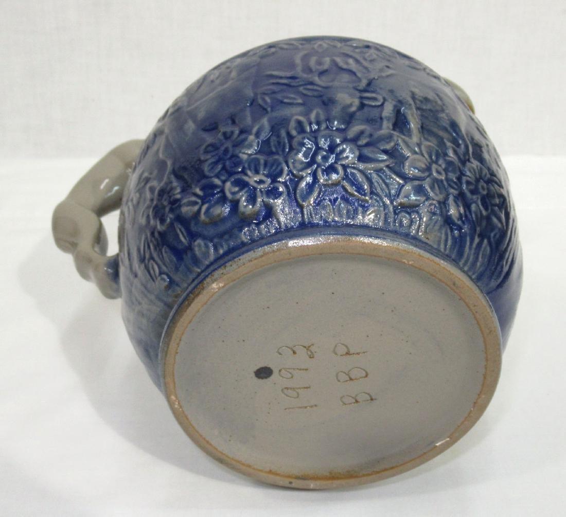Blue & Gray Stoneware Pitcher - 2