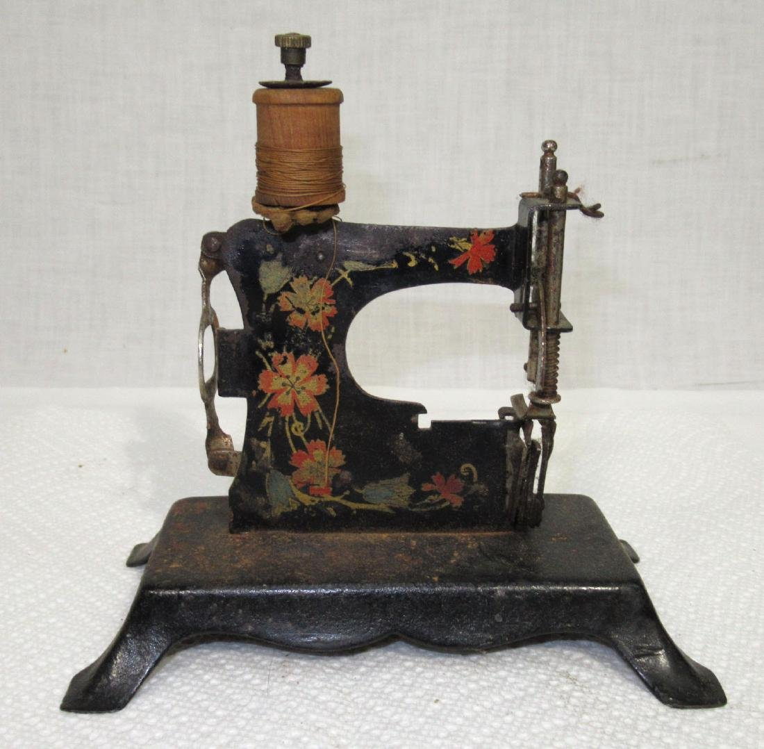 Stenciled Child's Toy Sewing Machine