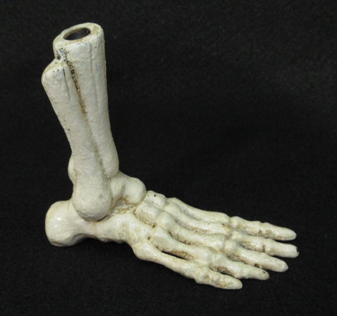 C.I. Foot Skeleton Pen Holder