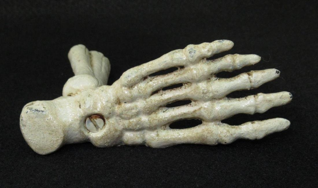 C.I. Foot Skeleton Pen Holder - 2