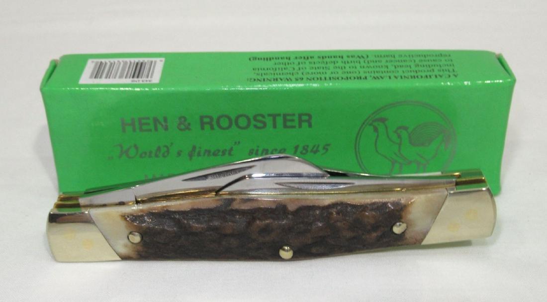 """4"""" Hen & Rooster Pocket Knife - 2"""