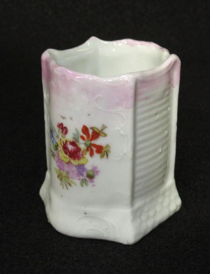 H.P. Porcelain Match Holder
