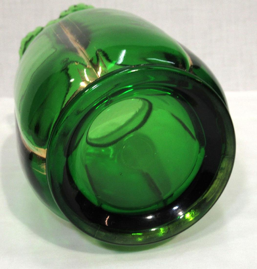 Riverside Green & Gold Vase - 2