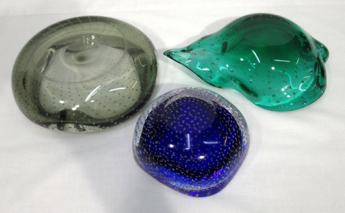 3 Murano Glass Dishes - 2