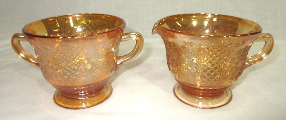 14pc Carnival Glass - 3
