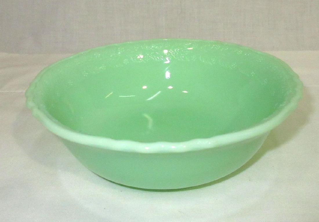 4 McKee Jadeite Bowls - 2